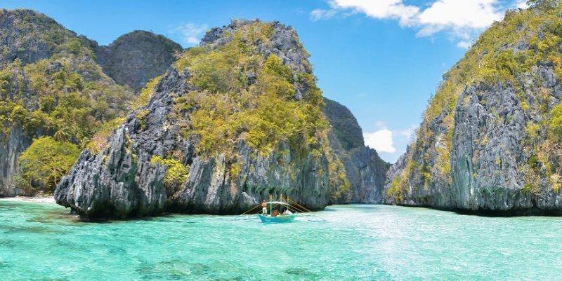 Explore Philippines Big Lagoon El Nido Palawan Feetpin