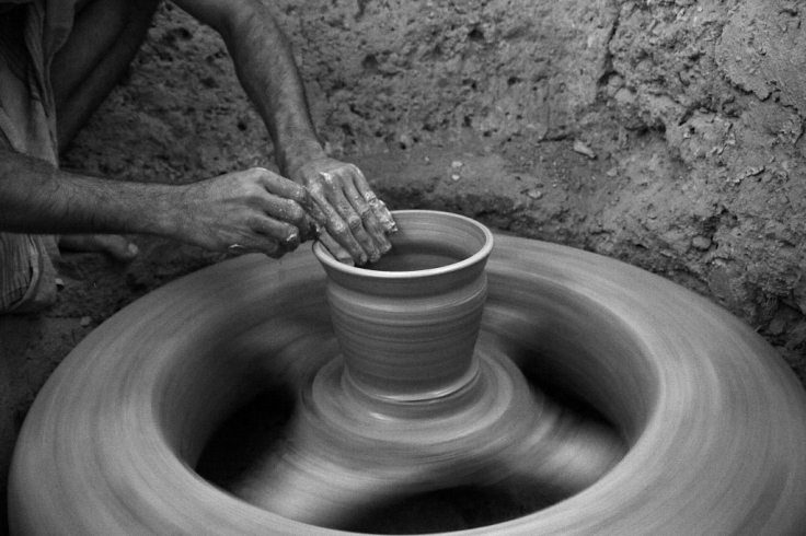 Pottery in Kaalipur